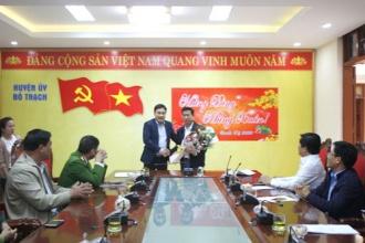 Ban quản lý Vườn Quốc gia Phong Nha – Kẻ Bàng tổ chức làm việc với Thường trực Huyện ủy, UBND huyện Bố Trạch